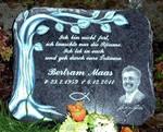Gravierung Foto auf Grabstein graviert