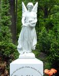 Grabsteinengel, Waldfriedhof Zehlendorf